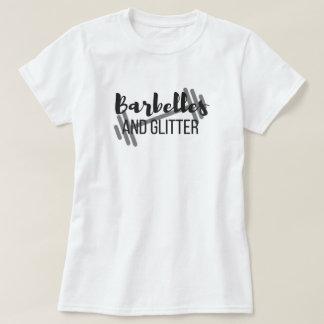 Barbelles y la camiseta de las mujeres básicas del camisas