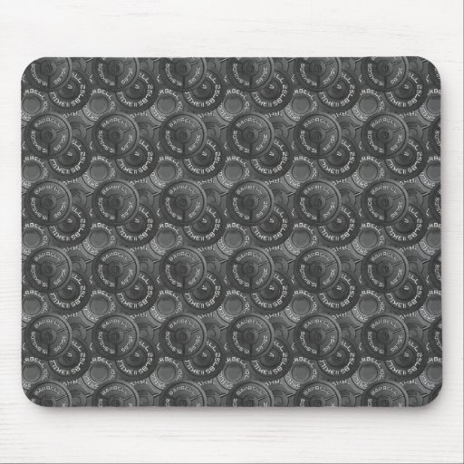 Barbells Mouse Pad