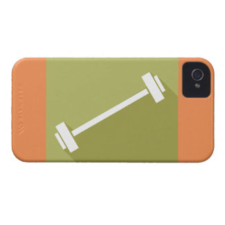 Barbells Weight Lifting Workout T-shirt Graphic iPhone 4 Case-Mate Case