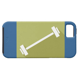 Barbells Weight Lifting Workout T-shirt Graphic iPhone 5 Case