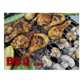 Barbeque BBQ Postcard