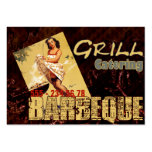Barbeque - Business Card