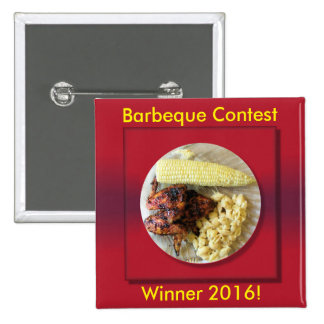 Barbeque Contest Winner Button