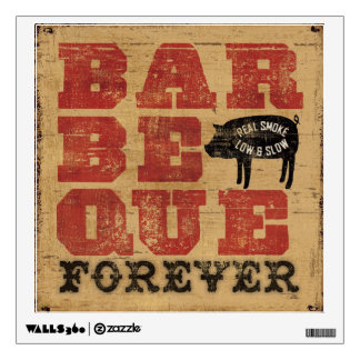 Barbeque Forever Wall Sticker
