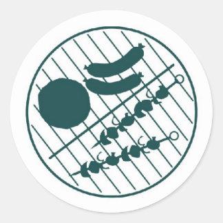 Barbeque Grill Sticker