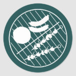 Barbeque Grill Sticker