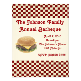 Barbeque Invitation