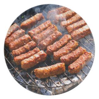 Barbeque Melamine Plate