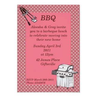 Barbeque Party Invitation 2
