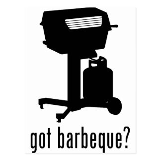 Barbeque Postcard