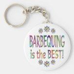 Barbequing es el mejor llaveros