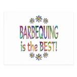 Barbequing es el mejor tarjeta postal