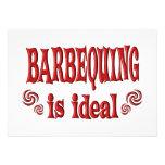 Barbequing es ideal anuncio personalizado