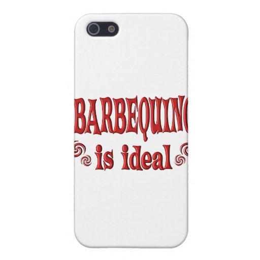 Barbequing es ideal iPhone 5 carcasas