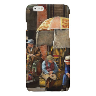 Barber - At Nelson's Barber Shop 1937 Glossy iPhone 6 Case