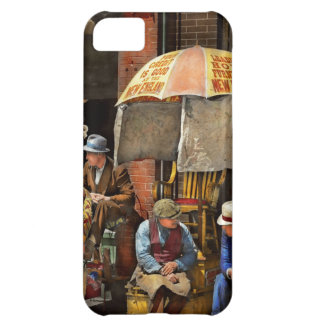 Barber - At Nelson's Barber Shop 1937 iPhone 5C Cover