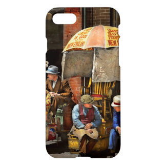 Barber - At Nelson's Barber Shop 1937 iPhone 8/7 Case
