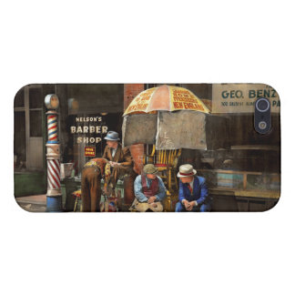 Barber - At Nelson's Barber Shop 1937 iPhone SE/5/5s Cover