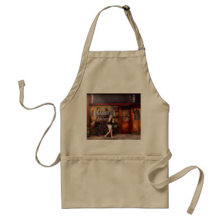 Barber - Barbershop - Time for a haircut Adult Apron