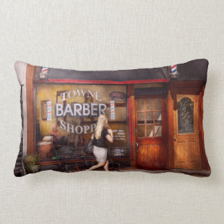 Barber - Barbershop - Time for a haircut Pillows