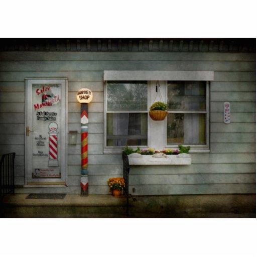 Barber - Belvidere, NJ - A Family Salon Acrylic Cut Out