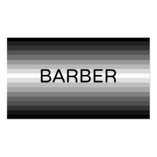 Barber Black to White Business Card