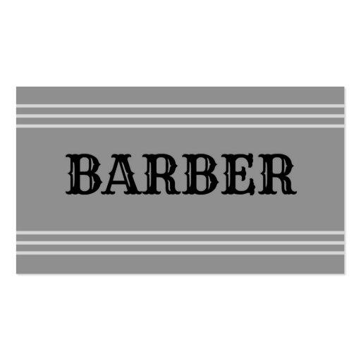 Barber Business Cards : Barber Business Cards