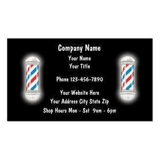 Barber Business Cards