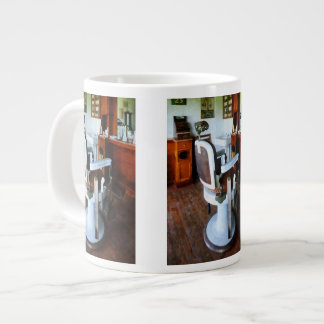 Barber Chair and Cash Register Large Coffee Mug