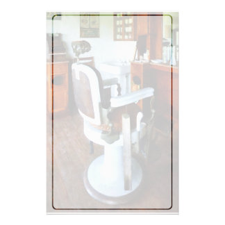 Barber Chair and Cash Register Stationery