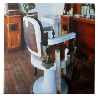 Barber Chair and Cash Register Tile
