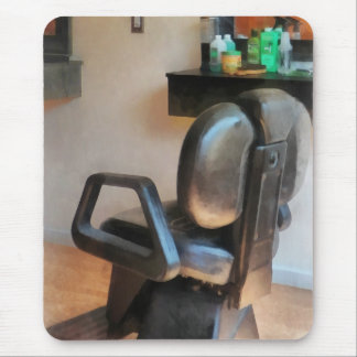 Barber Chair and Hair Supplies Mouse Pad