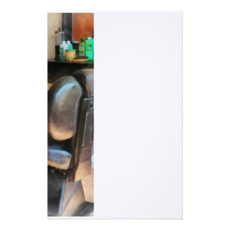 Barber Chair and Hair Supplies Stationery