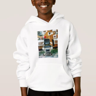 Barber Chair Front View Hoodie