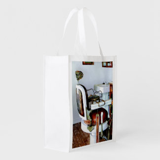 Barber Chair Grocery Bag
