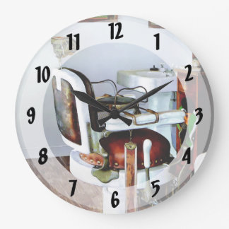 Barber Chair Large Clock