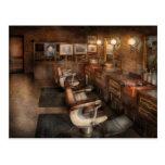 Barber - Clinton, NJ - Clinton Barbershop Postcards