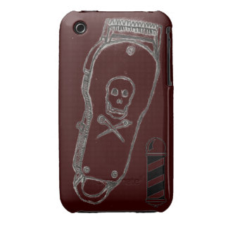 Barber Clippers IPhone Case Brown
