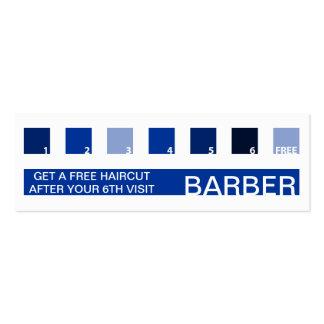 BARBER customer appreciation (mod squares) Mini Business Card