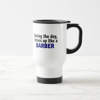 Barber During The Day Coffee Mug