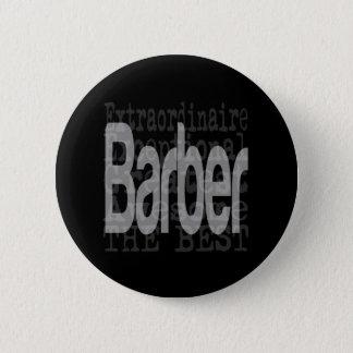 Barber Extraordinaire Pinback Button