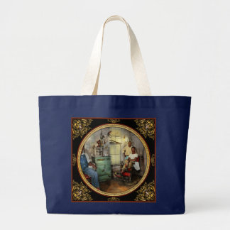 Barber - Family owned 1942 Large Tote Bag
