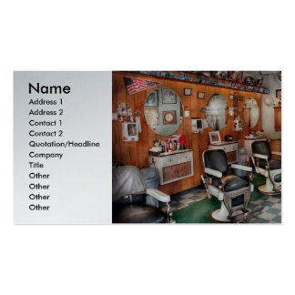 Barber - Frenchtown Barbers Business Card Templates