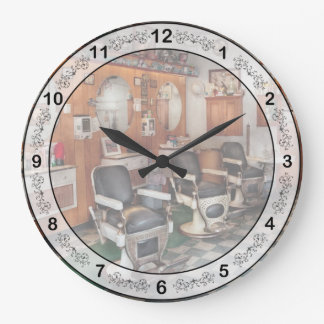 Barber - Frenchtown Barbers  Wallclock