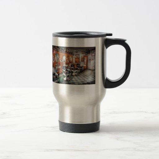 Barber - Frenchtown Barbers Travel Mug