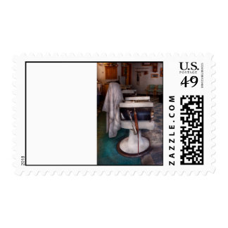 Barber - Frenchtown, NJ - We have some free seats Postage Stamps