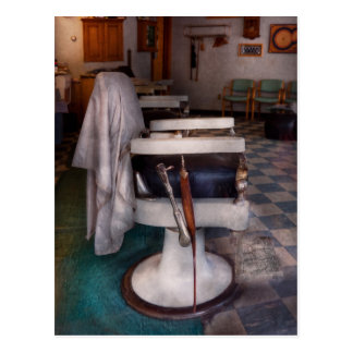 Barber - Frenchtown, NJ - We have some free seats Postcard