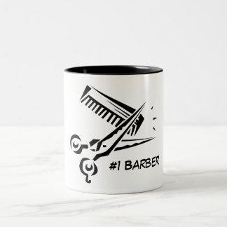 Barber Gift Ideas Two-Tone Coffee Mug