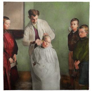 Barber - Haircut Day 1918 Cloth Napkin