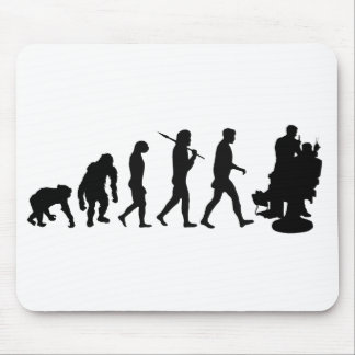 Barber hairdresser hair stylist mouse pad